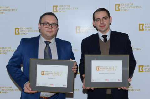 Radosław Koelner and Rawlplug with the titles of Construction Industry Creator 2017